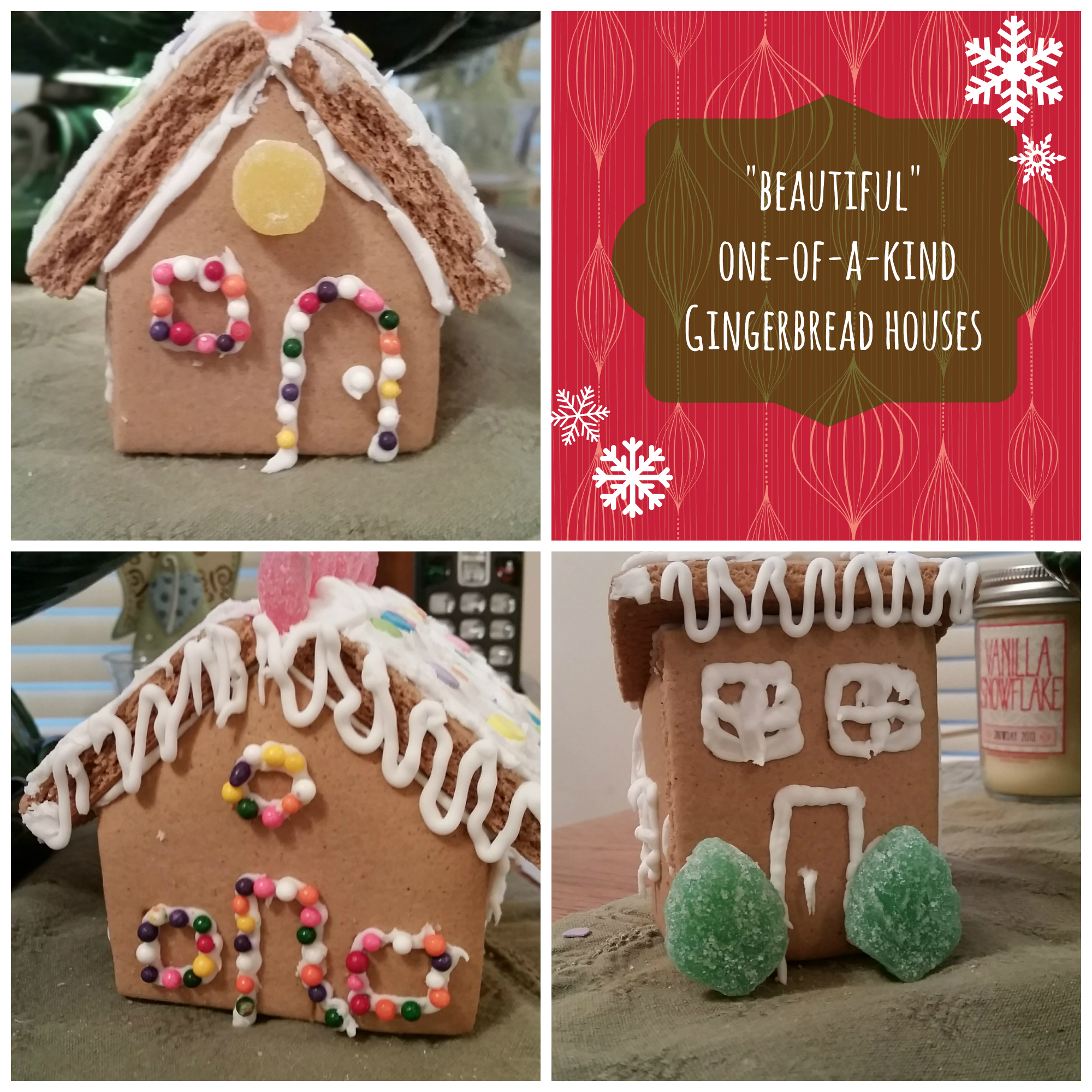 "My ""Beautiful"" Gingerbread Houses // Being Leanna"