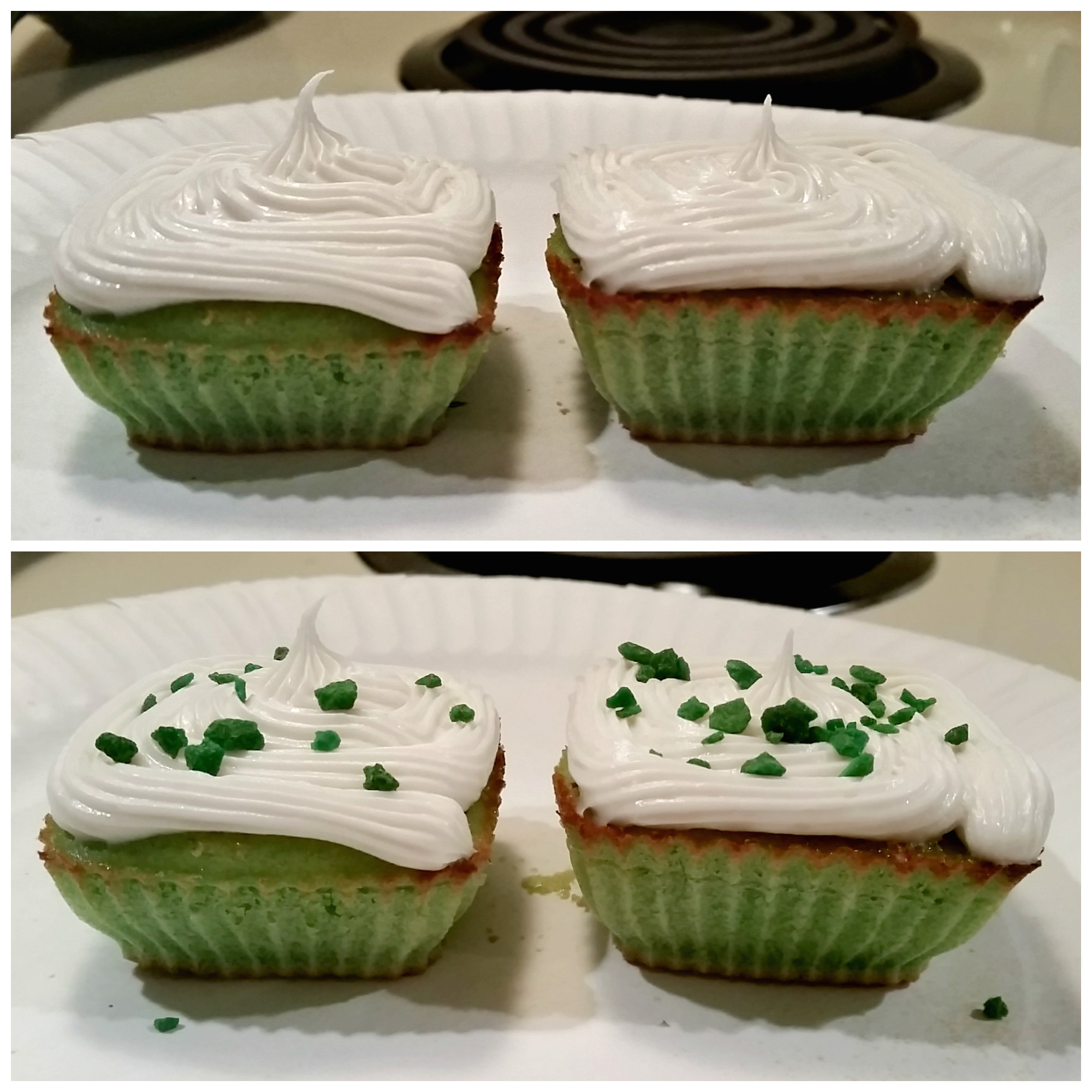 Monster Energy Cupcakes // Being Leanna